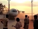 "Sập cần cẩu, máy bay Airbus A-320 ""rơi tự do"""