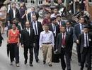 Tổng thống Pháp dạo phố cổ Hà Nội cùng GS Ngô Bảo Châu