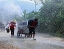Mưa lũ diễn biến phức tạp, Hà Nội mưa giông
