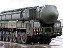 Nga tập trận với hệ thống tên lửa chiến lược Topol