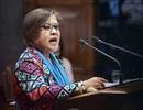 """Nữ nghị sĩ Philippines thách tổng thống """"dùng súng máy mà bắn tôi"""""""