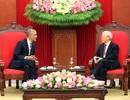 Tổng thống Obama chào xã giao Tổng Bí thư Nguyễn Phú Trọng