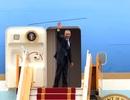 Hình ảnh Tổng thống Obama lên chuyên cơ Không lực Một rời Hà Nội