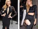 Người mẫu Séc gợi cảm với váy xẻ tứ bề