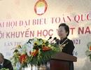 Tân Chủ tịch Hội Khuyến học VN: Chú trọng hơn học thường xuyên, học suốt đời ở người lớn