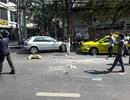 Xe tải lao vào chốt cảnh sát ở thủ đô Bangkok, 18 người bị thương