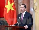 Chủ tịch nước gặp mặt đại biểu các thế hệ cán bộ Cục Tác chiến