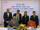 Vinmec hợp tác với Viện Nghiên cứu ung thư Curie