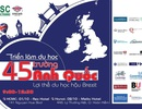 Triển lãm Du học 45 trường Anh Quốc eduFairUK – Lợi thế du học Anh hậu Brexit