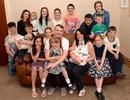 Gặp gỡ gia đình có tới 19 thành viên