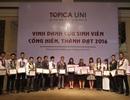 """40 Cựu sinh viên được vinh danh tại Lễ tuyên dương """"Cựu sinh viên Cống hiến, Thành đạt năm 2016 - Topica Uni"""""""