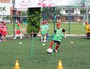 Gần 1000 em tham gia sơ tuyển trại hè bóng đá 2016