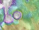 Phát hiện bất ngờ về các hồ nước trên sao Hỏa