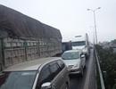 Tắc nghiêm trọng trên cao tốc Pháp Vân - Cầu Giẽ
