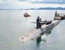 Tàu ngầm Mỹ tới căn cứ ở Philippines giữa lúc Biển Đông căng thẳng