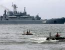 Tàu Thổ Nhĩ Kỳ bao vây tàu chiến Nga ở eo biển Bosporus