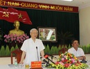 Tổng Bí thư: Chăm lo kinh tế biển phải gắn với bảo vệ Tổ quốc