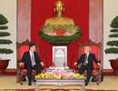 Tổng Bí thư tiếp Ủy viên trưởng Nhân đại Trung Quốc