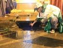 Tìm thấy thi thể bé trai bị nước cuốn xuống cống