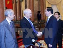 """Chủ tịch nước gặp mặt các giáo sư đoạt giải Nobel dự """"Gặp gỡ Việt Nam"""""""