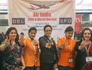 Ấn Độ: Lập kỷ lục chuyến bay dài nhất thế giới với phi hành đoàn toàn nữ