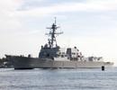 Mỹ điều 3 tàu khu trục trang bị tên lửa dẫn đường tuần tra Biển Đông