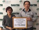 Công ty CP Du lịch và Thương mại Vinacomin ủng hộ hơn 23 triệu đồng đến người dân vùng lũ