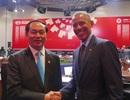 Chủ tịch nước Trần Đại Quang gặp lãnh đạo nhiều nước thành viên APEC