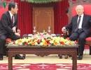 Tổng Bí thư tiếp Đại sứ Nhật Bản tại Việt Nam