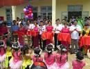 Tưng bừng ngày hội khánh thành công trình phòng học Dân trí thứ 7 tại Yên Bái
