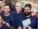 Tim Cook bí mật tới thăm Apple Store ở Pháp