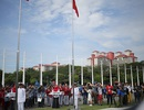 Quốc kỳ Việt Nam tung bay tại SEA Games 29