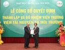 Công bố quyết định thành lập Viện Tài nguyên và Môi trường thuộc ĐH QGHN