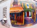 Mãn nhãn với những con đường tranh đẹp ngỡ ngàng ở Hà Nội