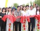 Nhóm từ thiện của phu nhân nguyên Chủ tịch nước xây cầu nông thôn ở Bạc Liêu