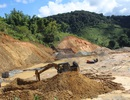 Trường học chưa thi công đã xuất hiện nguy cơ sạt lở đất