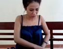 Kiều nữ bán thuốc lắc bị bắt trong nhà nghỉ