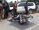 Vụ 3 người tử nạn khi va chạm xe biển xanh: Phó Chủ tịch huyện ngồi trên ô tô