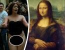 """Ra tòa vì """"thoát y"""" trước nàng Mona Lisa"""