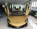 Những siêu xe mạ vàng xa xỉ bậc nhất của đại gia Việt