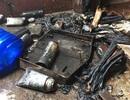 Cháy hàng chục bình gas, một người bị bỏng nặng