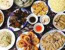 """""""Choáng"""" với mâm cơm 4 người ăn không khác gì đại tiệc"""