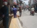 Vụ nứt đất bất thường tại Đà Lạt: Ống cấp nước bị rò rỉ