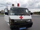 Tài xế xe cứu thương vác dao chém người sau va chạm giao thông?