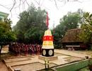 Cột mốc chủ quyền Trường Sa trong trường học giữa Trường Sơn