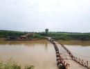 """Cây cầu phao của """"kỹ sư hai lúa"""" sắp được thay bằng cầu bê tông"""
