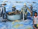 Khám phá làng bích họa của sinh viên ở xã đảo Tam Hải
