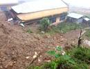 Sạt lở núi, một học sinh lớp 11 bị chôn vùi