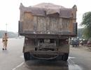 Hà Nội: Truy quét xe quá khổ, quá tải trên đường gom Đại lộ Thăng Long