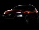 Hyundai Kona dần lộ diện